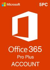 Official Microsoft Office 365 Account Global 5 Devices