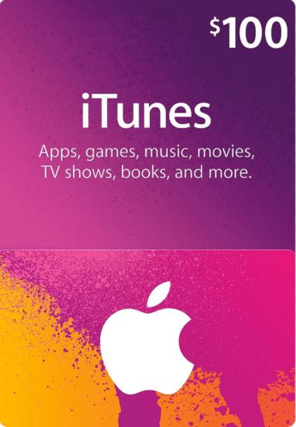 Apple iTunes Gift 100 USD