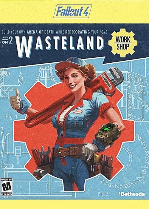 Fallout 4 Wasteland Workshop DLC Steam CD Key