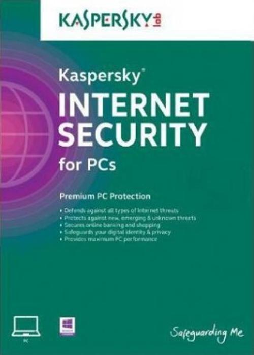 Kaspersky 2019 Internet Security 3 PC 1 YEAR EU