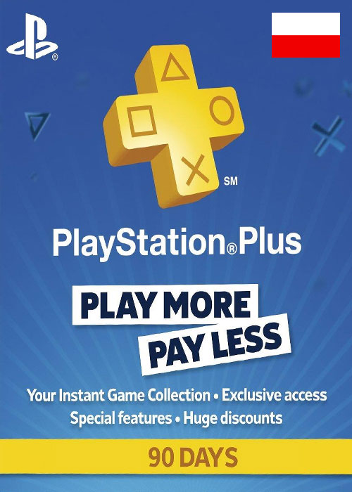 Playstation Plus 90 Days Poland