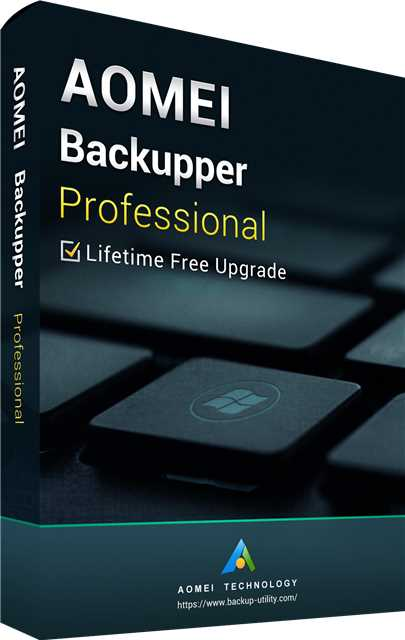 AOMEI Backupper Professional + Free Lifetime Upgrades 5.7 Edition Key Global