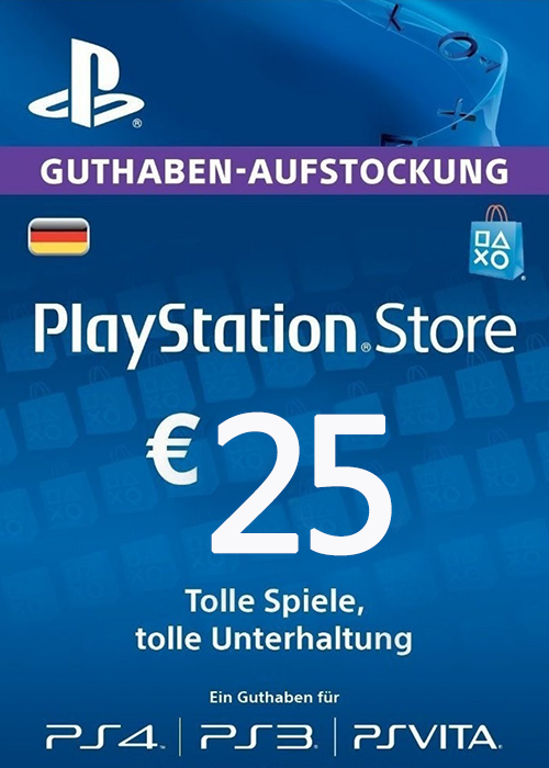 Play Station Network 25 EUR DE