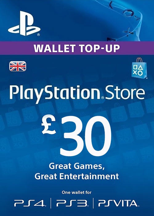 Play Station Network 30 GBP UK