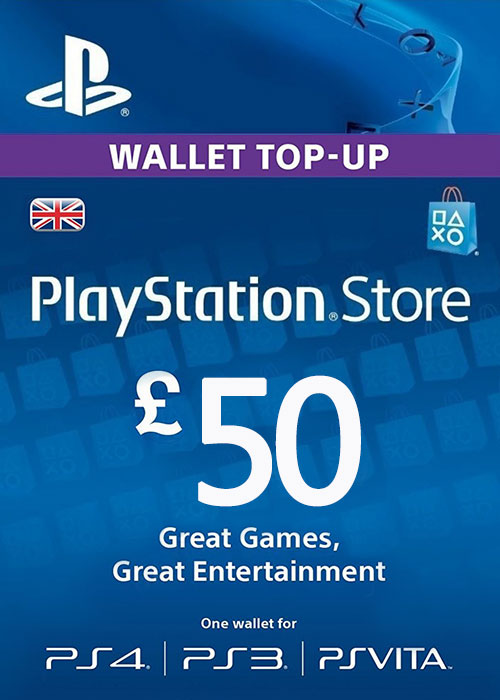 Play Station Network 50 GBP UK