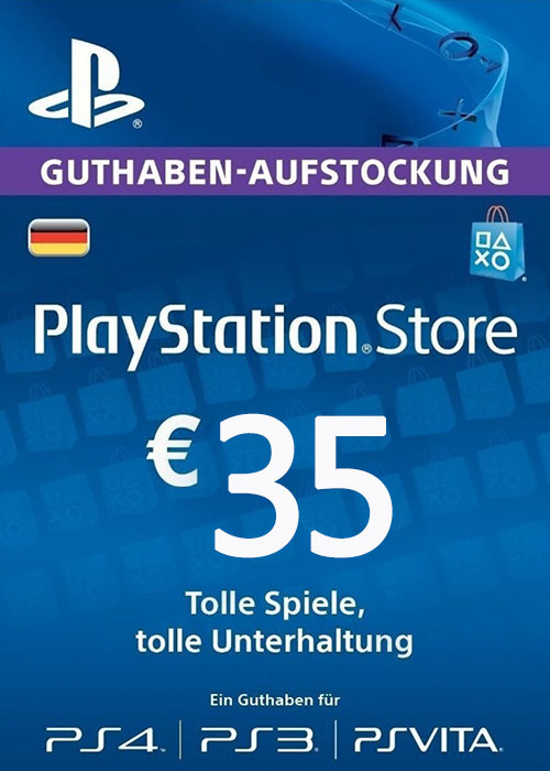 Play Station Network 35 EUR DE