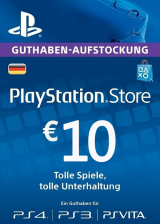 Official Play Station Network 10 EUR DE