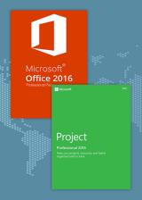 Official Office2016 Professional Plus + Project Professional 2016 CD Key Pack