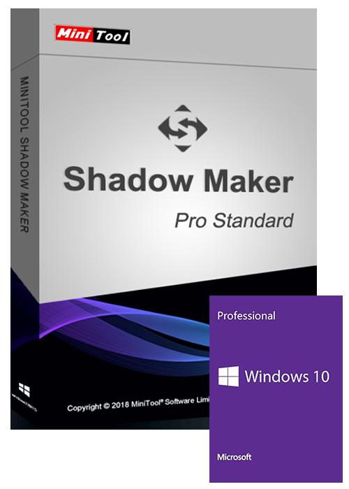 Windows 10 Pro OEM+MiniTool Partition Wizard Pro 11 Standard CD Key Global