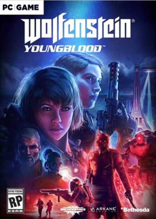 Wolfenstein Youngblood Bethesda Key EU