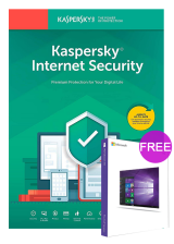 Official Kaspersky Internet Security 1 PC 1 Year Global Key(windows 10 pro oem free)