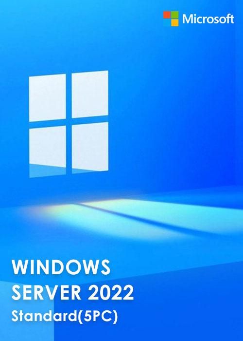 Windows Server 2022 Standard Key Global(5PC)