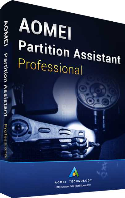 AOMEI Partition Assistant Professional 8.8 Edition Key Global