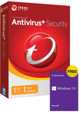 Official Trend Micro Antivirus 1 PC 1 Year Key Global(windows 10 pro oem free)