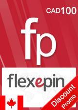 Official Flexepin Voucher Card 100 CAD