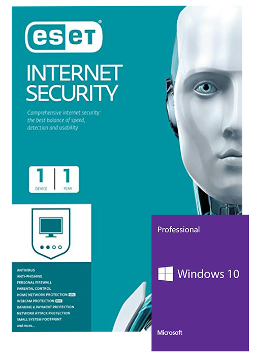 ESET Internet Security 1 Device 1 Year Key Global(windows 10 pro oem free)
