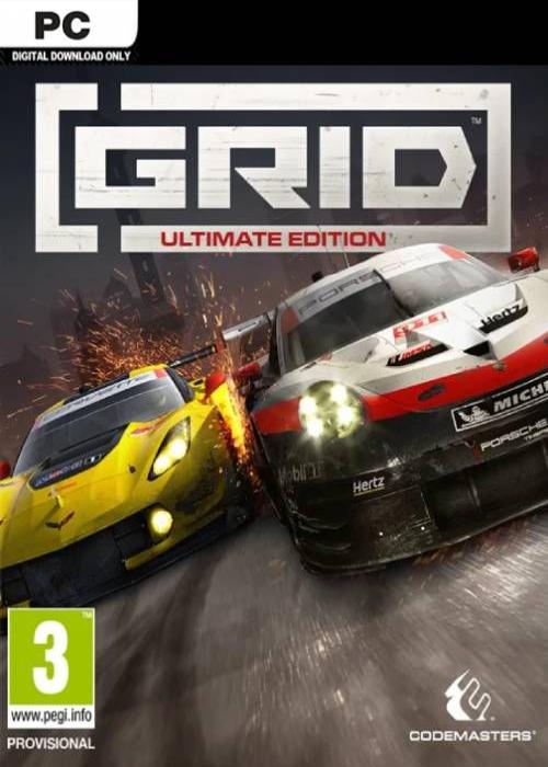 Grid Ultimate Edition Steam Key Global