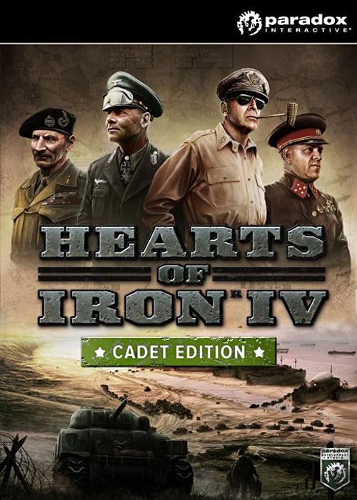 Hearts of Iron IV Cadet Edition Steam CD-Key