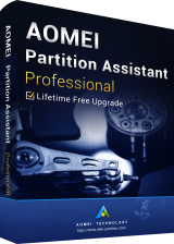 Official AOMEI Partition Assistant Professional + Free Lifetime Upgrades Key Global
