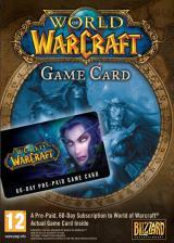 Official World of Warcraft EU 30 Days Time Card