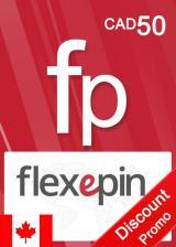 Official Flexepin Voucher Card 50 CAD