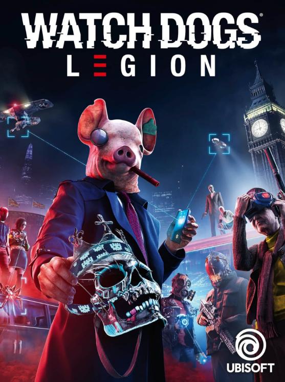 Watch Dogs Legion Standard Edition Uplay CD Key EU