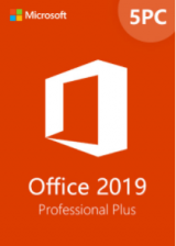 Official Office2019ProfessionalPlusCDKeyGlobal(5PC)